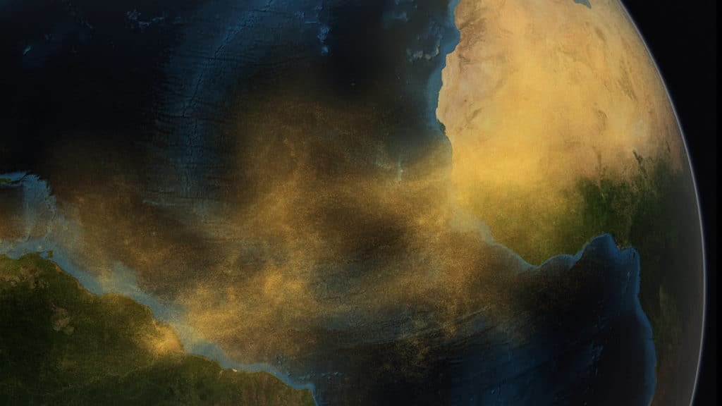 A 10-year characterization of the Saharan Air Layer lidar ratio in the subtropical North Atlantic